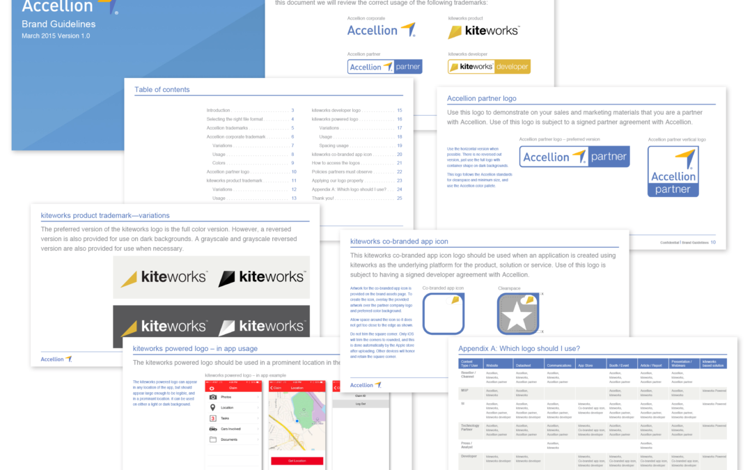Accellion – Brand Guideline & Logos